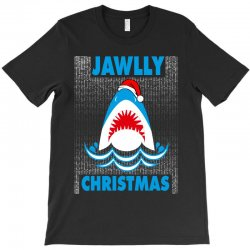 jaws christmas T-Shirt | Artistshot