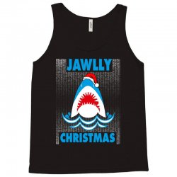 jaws christmas Tank Top | Artistshot