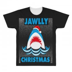 jaws christmas All Over Men's T-shirt | Artistshot