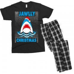 jaws christmas Men's T-shirt Pajama Set | Artistshot