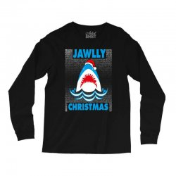 jaws christmas Long Sleeve Shirts | Artistshot