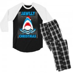jaws christmas Men's 3/4 Sleeve Pajama Set | Artistshot