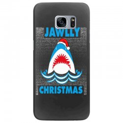 jaws christmas Samsung Galaxy S7 Edge Case | Artistshot