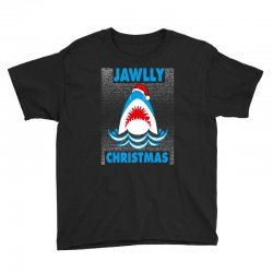 jaws christmas Youth Tee | Artistshot
