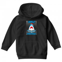 jaws christmas Youth Hoodie | Artistshot