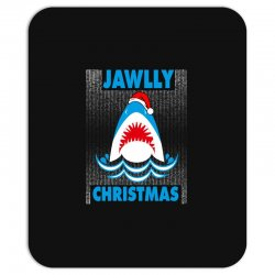 jaws christmas Mousepad | Artistshot