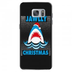 jaws christmas Samsung Galaxy S7 Case | Artistshot