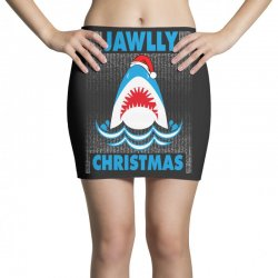 jaws christmas Mini Skirts | Artistshot