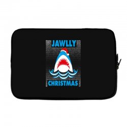 jaws christmas Laptop sleeve | Artistshot