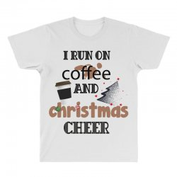 i run on coffee jesus and christmas cheer All Over Men's T-shirt | Artistshot