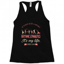 Rhythmic gymnastics - Motivational Racerback Tank | Artistshot