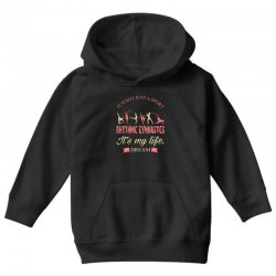 Rhythmic gymnastics - Motivational Youth Hoodie | Artistshot