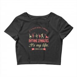 Rhythmic gymnastics - Motivational Crop Top | Artistshot