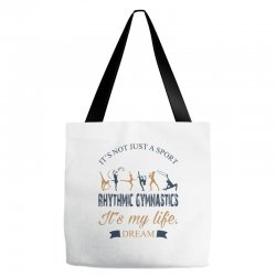 Rhythmic gymnastics - Motivational Tote Bags | Artistshot