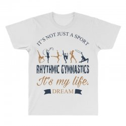 Rhythmic gymnastics - Motivational All Over Men's T-shirt | Artistshot
