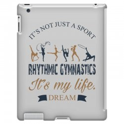 Rhythmic gymnastics - Motivational iPad 3 and 4 Case | Artistshot