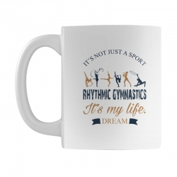 Rhythmic gymnastics - Motivational Mug | Artistshot