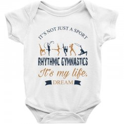 Rhythmic gymnastics - Motivational Baby Bodysuit | Artistshot