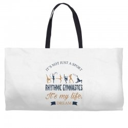 Rhythmic gymnastics - Motivational Weekender Totes | Artistshot