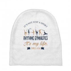 Rhythmic gymnastics - Motivational Baby Beanies | Artistshot