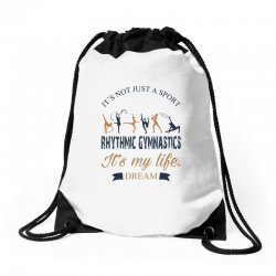 Rhythmic gymnastics - Motivational Drawstring Bags | Artistshot