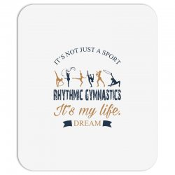 Rhythmic gymnastics - Motivational Mousepad | Artistshot