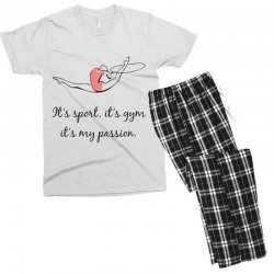 Rhythmic gymnastics - Motivational Men's T-shirt Pajama Set | Artistshot