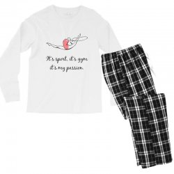 Rhythmic gymnastics - Motivational Men's Long Sleeve Pajama Set | Artistshot