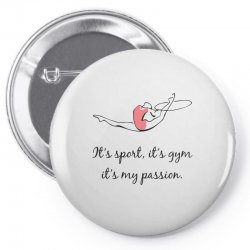 Rhythmic gymnastics - Motivational Pin-back button | Artistshot
