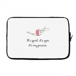 Rhythmic gymnastics - Motivational Laptop sleeve | Artistshot