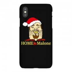 home malone christmas sweatshirt iPhoneX Case | Artistshot