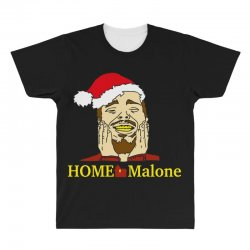 home malone christmas sweatshirt All Over Men's T-shirt | Artistshot