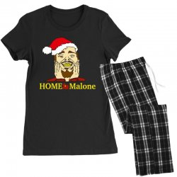 home malone christmas sweatshirt Women's Pajamas Set | Artistshot