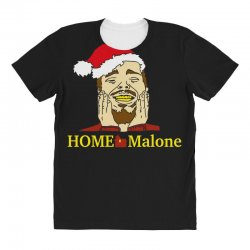 home malone christmas sweatshirt All Over Women's T-shirt | Artistshot