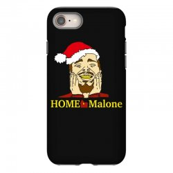 home malone christmas sweatshirt iPhone 8 | Artistshot