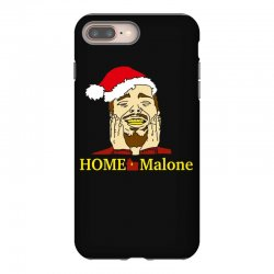 home malone christmas sweatshirt iPhone 8 Plus | Artistshot