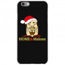 home malone christmas sweatshirt iPhone 6/6s Case | Artistshot