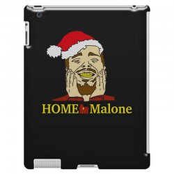 home malone christmas sweatshirt iPad 3 and 4 Case | Artistshot