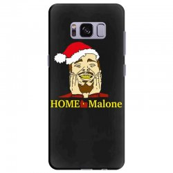 home malone christmas sweatshirt Samsung Galaxy S8 Plus | Artistshot