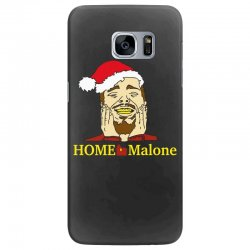 home malone christmas sweatshirt Samsung Galaxy S7 Edge Case | Artistshot