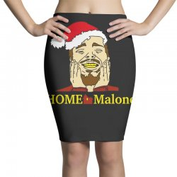 home malone christmas sweatshirt Pencil Skirts | Artistshot