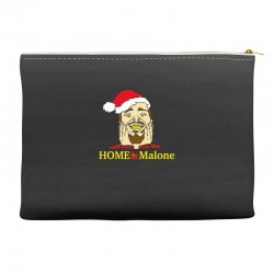 home malone christmas sweatshirt Accessory Pouches | Artistshot