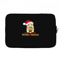 home malone christmas sweatshirt Laptop sleeve | Artistshot