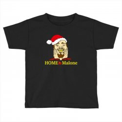 home malone christmas sweatshirt Toddler T-shirt | Artistshot
