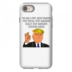 grandpa donald trump coffee iPhone 8 | Artistshot