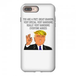 grandpa donald trump coffee iPhone 8 Plus | Artistshot