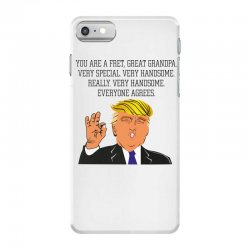 grandpa donald trump coffee iPhone 7 Case | Artistshot