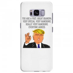 grandpa donald trump coffee Samsung Galaxy S8 Plus | Artistshot