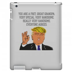 grandpa donald trump coffee iPad 3 and 4 Case | Artistshot