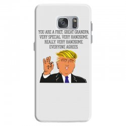 grandpa donald trump coffee Samsung Galaxy S7 Case | Artistshot